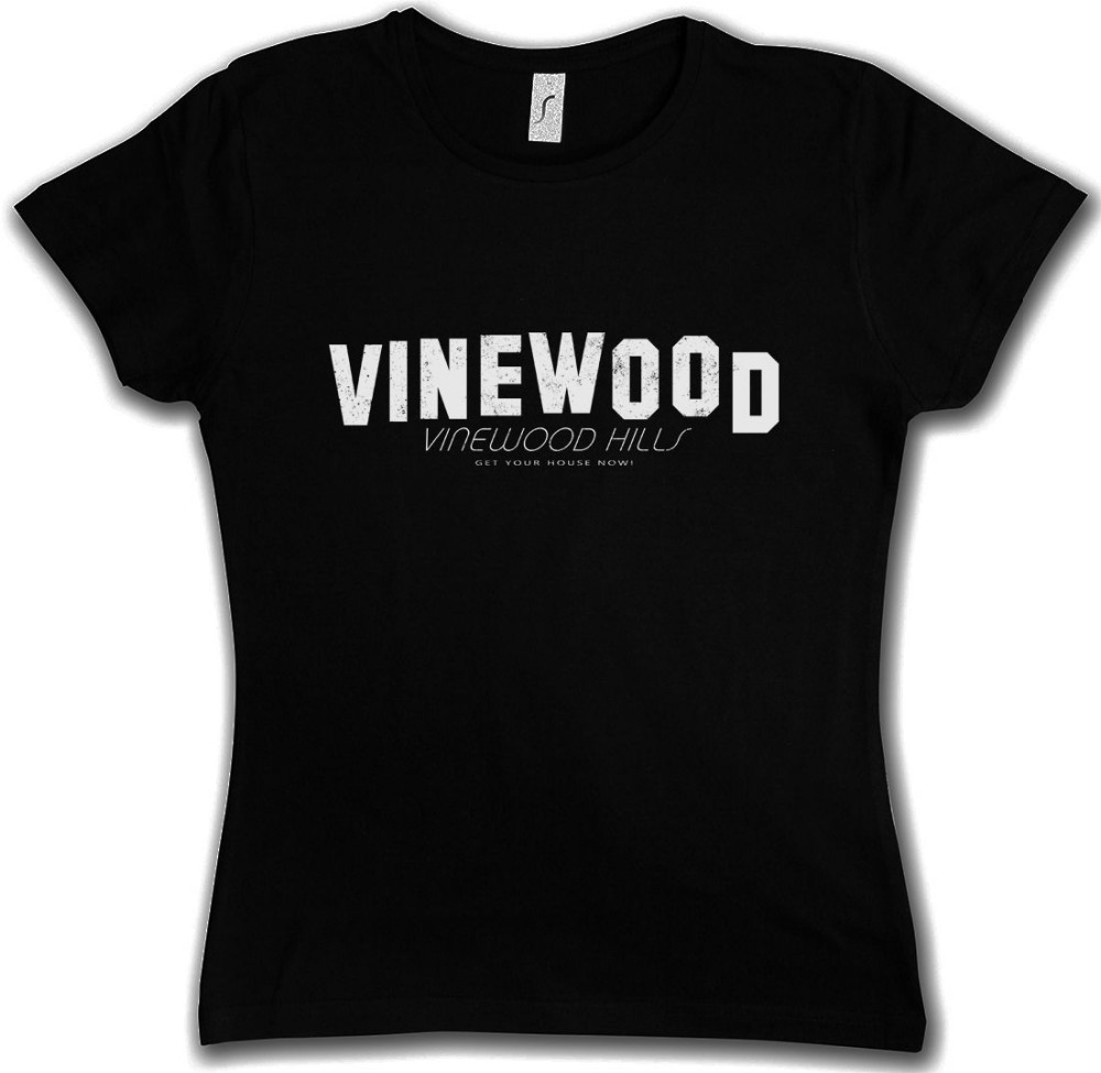 VINEWOOD HILLS DAMEN TIŞÖRT Hollywood Oyunu